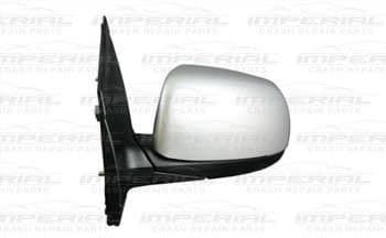 Kia Picanto 5dr Hatch 2015 - 2017 Door Mirror Manual Type With Primed Cover (No Repeater Lamp) N/S