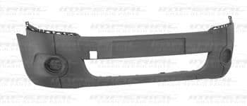 Peugeot Partner 2008 -2012 Front Bumper No Lamp or Moulding Holes - Textured