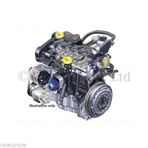 RENAULT 1.5 DCI K9K 832 / 836 RECONDITIONED ENGINE BARE