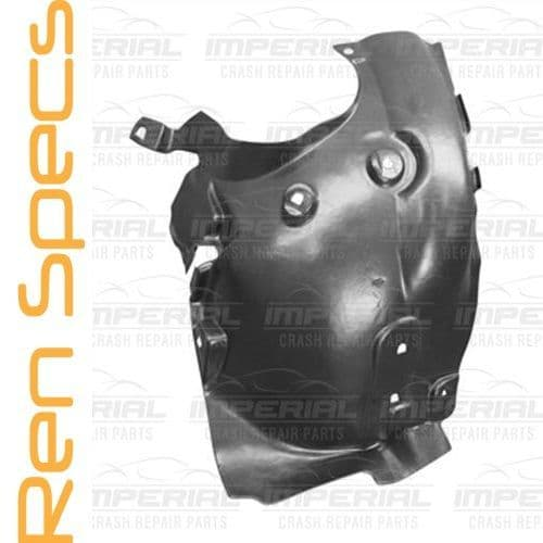 RENAULT CAPTUR - BRAND NEW Front Right Wing Splashguard Rear Section Dirt Shield