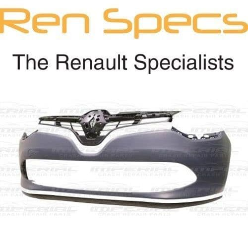 RENAULT CLIO IV - BRAND NEW FRONT BUMPER - Including Grille Spoiler & Absorber