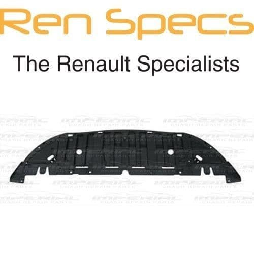 RENAULT CLIO IV - BRAND NEW FRONT BUMPER UNDERTRAY - Air Guide Under tray