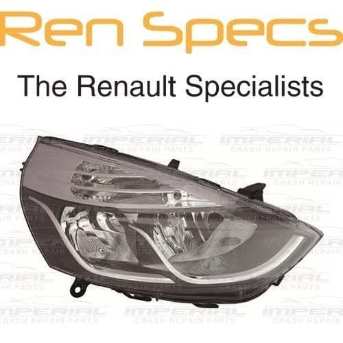 RENAULT CLIO IV - BRAND NEW FRONT RIGHT HEADLAMP - Offside Head Light - Chrome