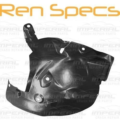 RENAULT CLIO IV - BRAND NEW LEFT FRONT WING SPLASH GUARD- Arch Liner Rear half