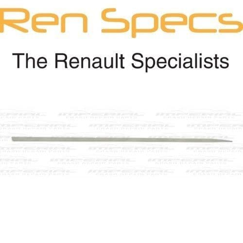 RENAULT CLIO IV - BRAND NEW RIGHT FRONT DOOR MOULDING - Insert trim - Painted
