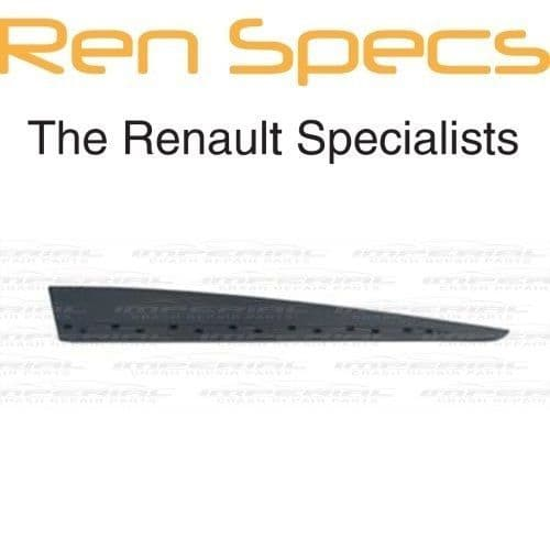 RENAULT CLIO IV - BRAND NEW RIGHT FRONT DOOR MOULDING - With Holes Type - Black
