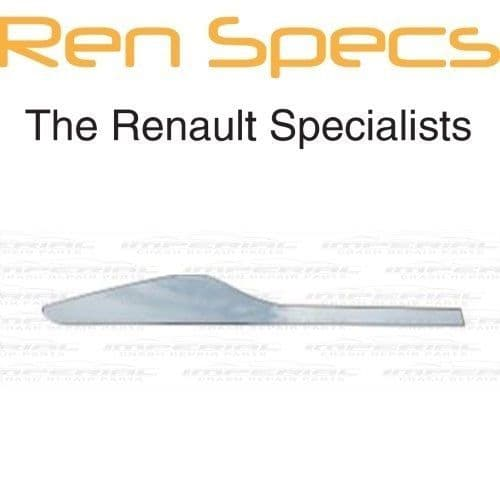 RENAULT CLIO IV - BRAND NEW RIGHT REAR DOOR MOULDING - Insert trim - Chrome