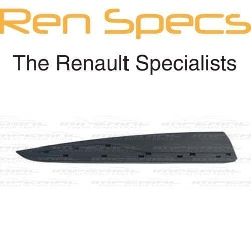 RENAULT CLIO IV - BRAND NEW RIGHT REAR DOOR MOULDING - With Holes - Black
