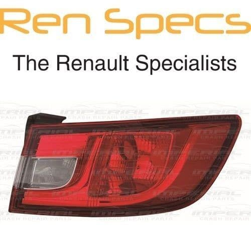 RENAULT CLIO IV - BRAND NEW - RIGHT REAR OUTER LAMP - Offside Light