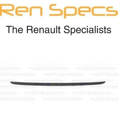 RENAULT CLIO IV - BRAND NEW TAILGATE BOOT MOULDING - Primed