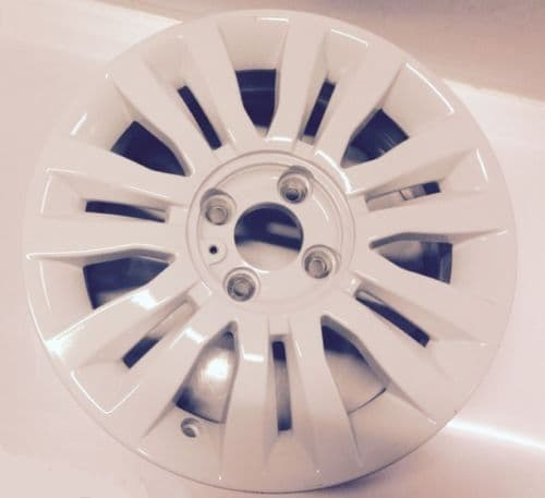 RENAULT CLIO NEW WHITE 15 INCH DEL ARTE ALLOY WHEEL 403001167R
