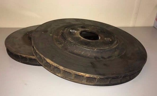 Renault Clio RS 3.0 V6 2005 pair of vented front disks (part worn) 6020013026