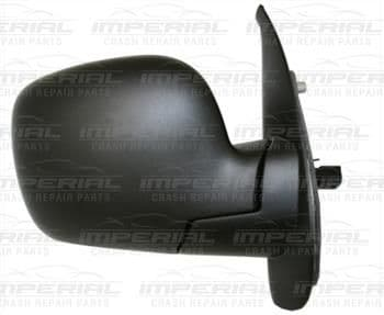 Renault Kangoo 2009 - 2013 Door Mirror Electric Heated Type With Black Cover Off Side
