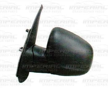Renault Kangoo 2013 - Door Mirror Electric Heated Manual Fold Type With Black Cover Near Side