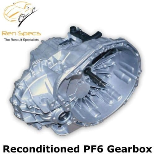 RENAULT MASTER - RECONDITIONED  RECON 2.5 DCI GEARBOX 6 SPEED PF6 006 PF6006