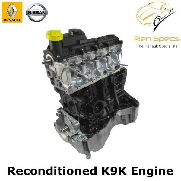 Renault / Nissan - K9K Reconditioned engine 1.5 dci cdti - Recon 764 832