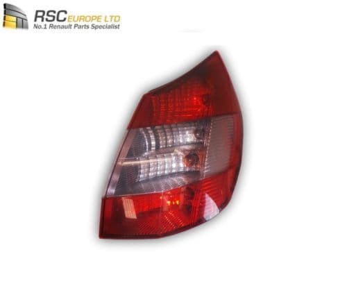 RENAULT SCENIC II RIGHT REAR OSR TAIL LIGHT / LAMP 8200127702