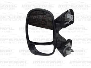 Renault Trafic  2007-2014 Door Mirror Manual Type With Black Cover Near Side