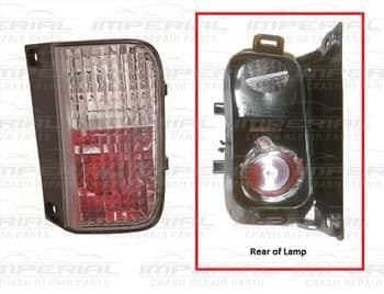 Renault Trafic 2007-2014 Rear Lamp Fog - One Bulb Holder Type Off side