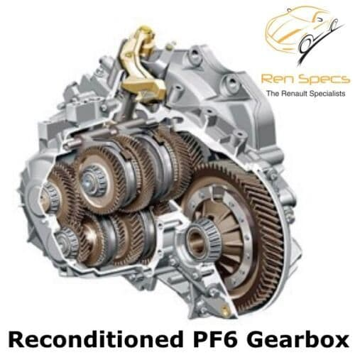 Renault / Vauxhall / Nissan - Recon Reconditioned Gearbox - PF6 PF6010 / PF6024 / PF6026 6 Speed