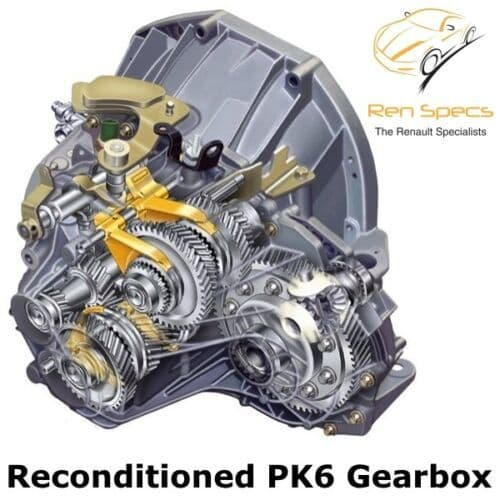 Renault / Vauxhall / Nissan Reconditioned Gearbox 6 Speed  PK6