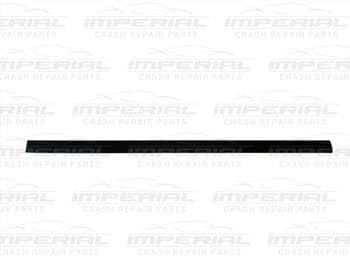 Vauxhall Combo 2002 - 2011 Door Moulding Front - Black Off Side