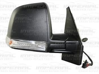 Vauxhall Combo 2012 - Door Mirror Manual Type With Black Cover (Single Glass) Off Side