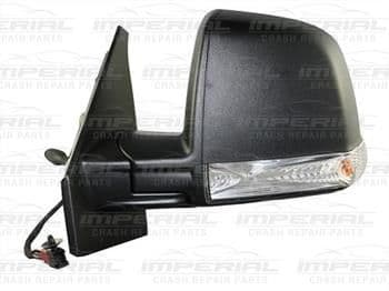 Vauxhall Combo Door Mirror Manual Type With Black Cover (Single Glass) N/S