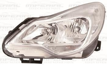 Vauxhall Corsa  2011-2014 3 Door Headlamp Chrome Type (Not Adaptive Lighting) N/S