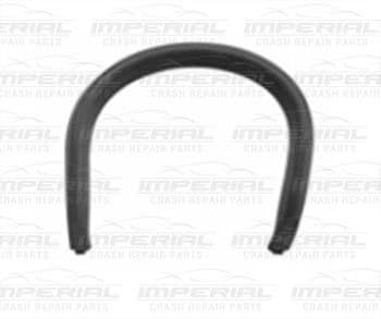 Vauxhall Corsa 2011-2014 3 Door Rear Bumper Moulding Exhaust Trim - Primed (SXi Models)