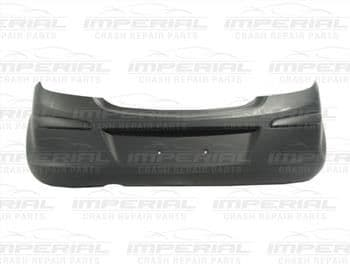 Vauxhall Corsa 2011-2014 3 Door Rear Bumper No Sensor Holes or Bike Rack System - Primed