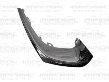 Vauxhall Corsa 2015 - 3 Door Front Bumper Moulding Outer Bumper Grille Finisher - Chrome O/S