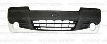Vauxhall Vivaro 2007-2014 Front Bumper With Lamp Holes - Part Primed