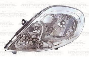 Vauxhall Vivaro 2007-2014 Headlamp With Clear Indicator Near Side