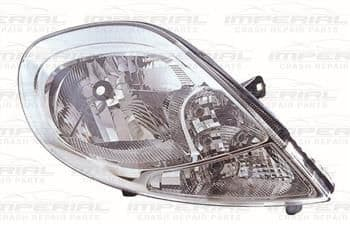 Vauxhall Vivaro 2007-2014 Headlamp With Clear Indicator Off Side