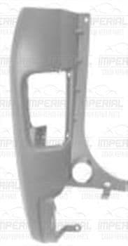 Vauxhall Vivaro 2007-2014 Rear Bumper Corner Primed Near Side