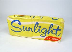 4 Packs of Vintage 2 Large Lever Brothers Sunlight Soap with Lanolin Original Packaging Circa 1970s
