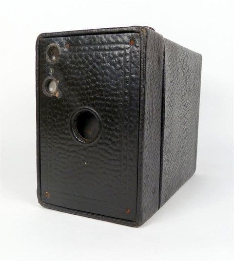 Antique Box Camera Canadian Kodak No 2A Brownie Model B 116 120 Roll Film 1916 Patents