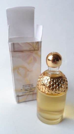 HTF Boxed Post Vintage 1998 Mini Miniature Perfume Bottle Guerlain Aqua Allegoria Ylang Vanille EDT
