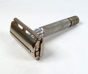 Vintage 1953-54 Gillette TTO Rocket HD Patent Pending Safety Razor Made in England