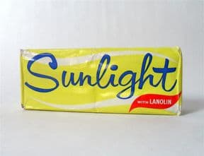 Vintage 2 Large Lever Brothers Sunlight Soap with Lanolin Original Packaging Circa 1970s