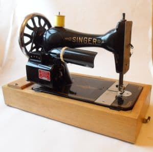 Vintage Antique Sewing Art Nouveau Singer Machine Vs3 Serial Number 12114230 Ca 1894 Hillman Motor