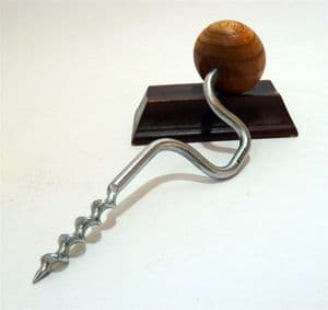 Vintage Bar Figural Drill Bit & Brace Corkscrew Japan Circa 1950s Woodworking Carpenter Quirky Gift