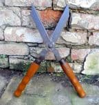Vintage Gardening Tool Signal Sheffield Garden Shears Cutters Lavender Hedge Bush Trimmers Topiary