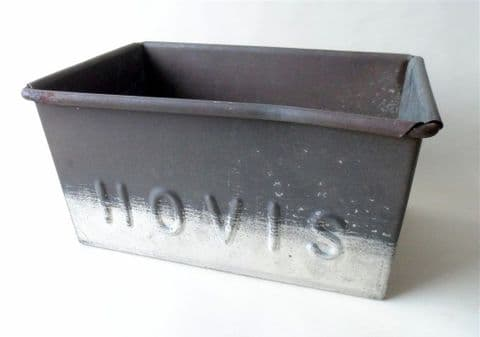 Vintage Kitchen Hovis Baking Bread Tin Circa 1930s Large Size Herb Garden Planter Storage Bakers Traditional