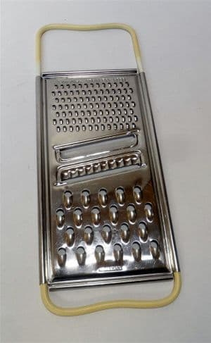 Vintage Kitchen Utensil Tool Skyline Burnley West Germany Flat Shredder Grater 1960s Cheese Etc