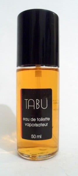 Vintage Ladies Fragrance Perfume Tabu by Dana EDT Eau de Toilette 50ml No Box
