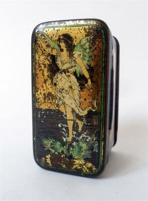 Vintage Loom Spinning Ring Travellers Tin Cook & Co Manchester Circa 1930s Fairy Fairies