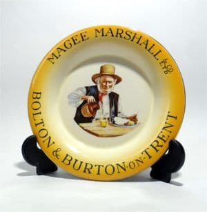 Vintage Magee Marshall Bolton Burton On Trent Brewery Ash Tray by Hancock Corfield Waller Pictorial