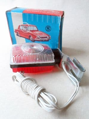 Vintage Motoring Boxed Empire Made SM Car Parking Light Lamp 1970s Austin Ford Daimler Jaguar MG